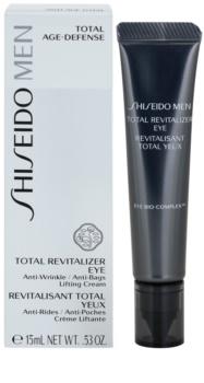 Shiseido Men Total Age-Defense liftinges szemkrém a ráncok és a sötét karikák ellen