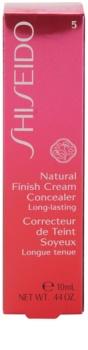Shiseido Base Natural Finish Cream anticearcan cu efect de lunga durata