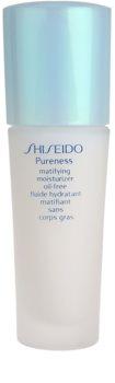 Shiseido Pureness loción hidratante ligera de acabado mate