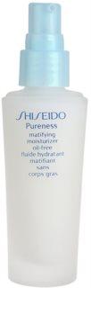 Shiseido Pureness leichtes, feuchtigkeitsspendendes Fluid für mattes Aussehen