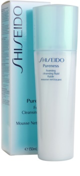 Shiseido Pureness jemná pěnivá emulze pro dokonalé vyčištění pleti