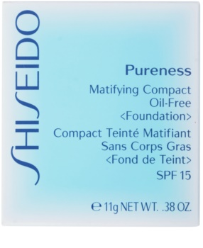 Shiseido Pureness make-up compact SPF 15