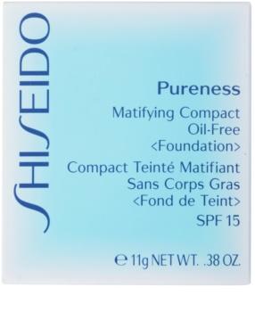 Shiseido Pureness тональна пудра SPF 15