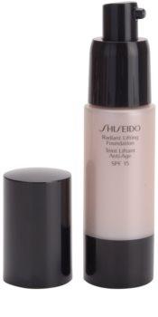 Shiseido Base Radiant Lifting роз'яснюючий тональний крем з ліфтінговим ефектом SPF 15