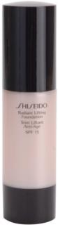 Shiseido Base Radiant Lifting base iluminadora com efeito lifting SPF 15