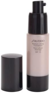 Shiseido Base Radiant Lifting rozjasňující liftingový make-up SPF 15