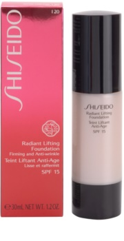 Shiseido Base Radiant Lifting озаряващ лифтинг грим SPF 15