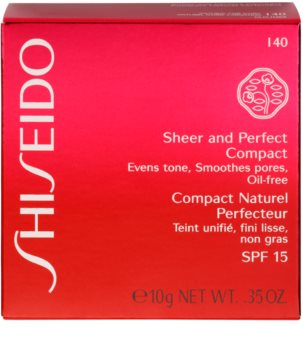Shiseido Base Sheer and Perfect kompaktní pudrový make-up SPF 15