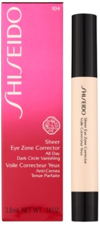 Shiseido Makeup Sheer Eye Zone Corrector korektor proti temnim kolobarjem