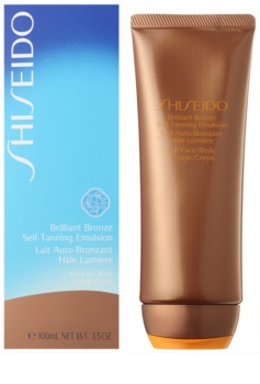 Shiseido Sun Self-Tanning Self Tan Emulsion For Body and Face