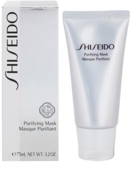 Shiseido The Skincare čisticí maska proti lesknutí pleti a rozšířeným pórům
