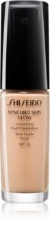 Shiseido Makeup Synchro Skin Glow Luminizing Fluid Foundation base iluminadora SPF 20