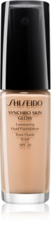 Shiseido Makeup Synchro Skin Glow Luminizing Fluid Foundation SPF20 auffrischendes Make-up SPF 20