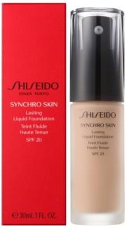 Shiseido Synchro Skin dlhotrvajúci make-up SPF 20