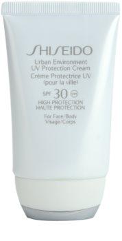 Shiseido Sun Care Protection UV Protection Cream for Face and Body SPF 30