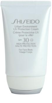 Shiseido Sun Protection Hydraterende Beschermende Crème  SPF 30