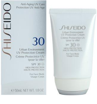 Shiseido Sun Protection hydratisierende Schutzcreme SPF30