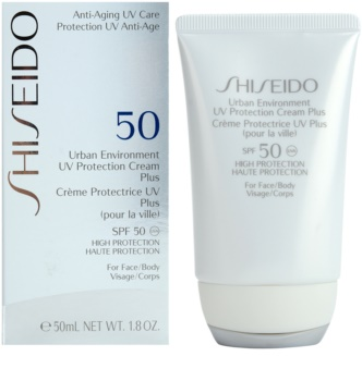 Shiseido Sun Protection UV Protection Cream Plus for Face and Body SPF 50