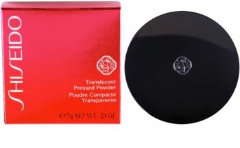 Shiseido Base Translucent pudra de fixare pentru un aspect mat