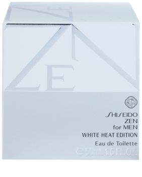 Shiseido Zen for Men White Heat Edition eau de toilette férfiaknak 50 ml