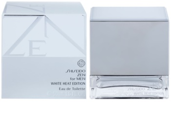 Shiseido Zen for Men White Heat Edition Eau de Toilette für Herren 50 ml