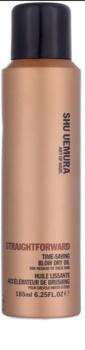 Shu Uemura Straightforward óleo em spray para cabelo para secagem mais rápida