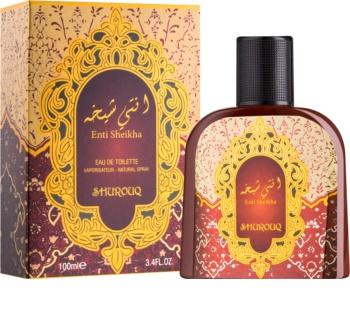 Shurouq Enti Sheikha eau de toilette unisex 100 ml