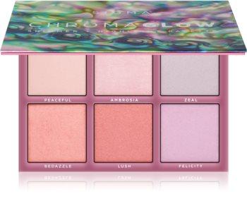 Sigma Beauty Chroma Glow paleta rozjasňovačů
