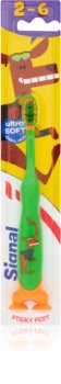 Signal Kids Toothbrush with Suction Cup for Kids