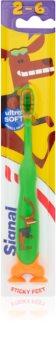 Signal Kids zubná kefka pre deti s prísavkou
