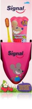 Signal Kids Set für perfekte Zahnpflege II. für Kinder