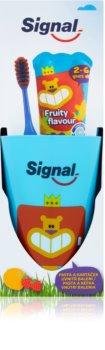 Signal Kids набір для ідеальної чистоти зубів I. (для дітей)