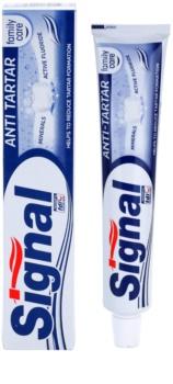 Signal Anti Tartar Toothpaste Against Dental Caries