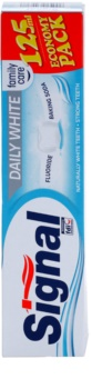 Signal Daily White pasta de dientes con efecto blanqueador