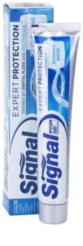 Signal Expert Protection Glowing White fogkrém A fényes fehér fogakért