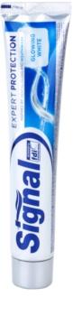 Signal Expert Protection Glowing White pasta de dientes para dientes blancos y radiantes