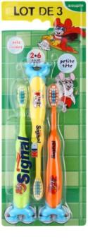 Signal Kids zubné kefky pre deti 3 ks