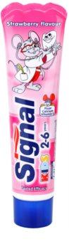 Signal Kids dentífrico para crianças