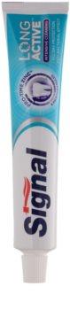 Signal Long Active Intensive Cleaning pasta de dientes con microgránulos para una limpieza bucal completa