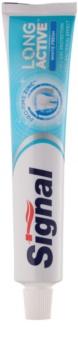 Signal Long Active White Fresh pasta de dientes blanqueadora para aliento fresco