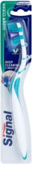 Signal Super Clean escova de dentes medium