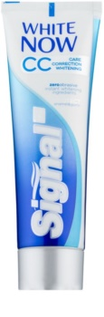 Signal White Now CC bieliaca zubná pasta pre kompletnú starostlivosť