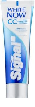 Signal White Now CC bleichende Zahnpasta zur Komplettpflege