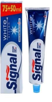 Signal White System zubní pasta s bělicím účinkem