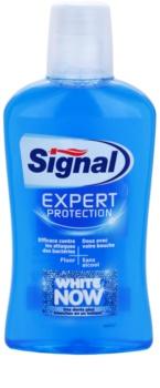 Signal White Now Expert Protection enjuague bucal con efecto blanqueador