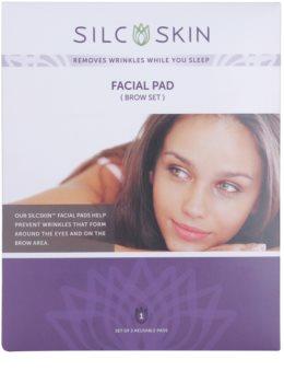 SilcSkin Facial Pad Silikon-Kissen gegen Falten im Stirn und Augenbereich