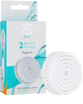 Silk'n Pure recarga de escova para limpeza  2 pçs