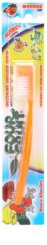 SilverCare Four Fruit Orange escova de dentes para crianças com aroma soft