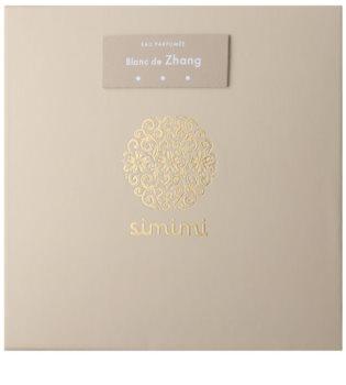 Simimi Blanc de Zhang Eau de Parfum para mulheres 100 ml