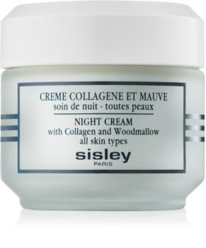 Sisley Night Cream crema de noche con colágeno